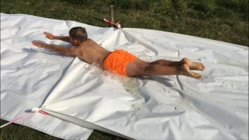 Wasserrutsche Sommerfest 2016